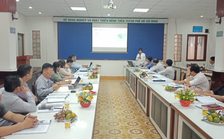 Consultation workshop on draft 10-year periodic review report of Can Gio Mangrove Biosphere Reserve period 2010 – 2020