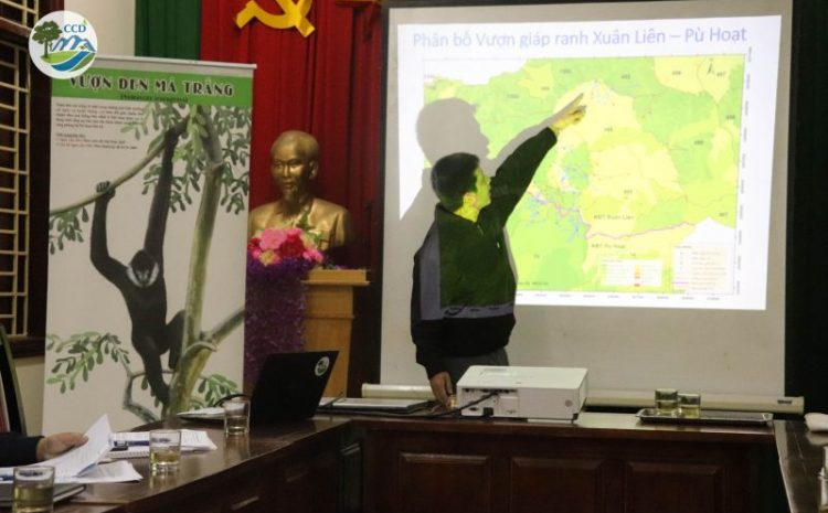 Improving cooperation for effective conservation of the critically endangered white-cheeked gibbons and endangered wildlife in Xuan Lien – Pu Hoat Conservation landscape