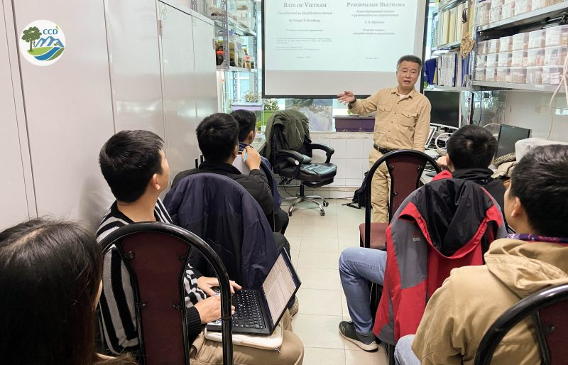 Training and sharing experiences on Small Mammals, Bats and Bird research and conservation in Vietnam