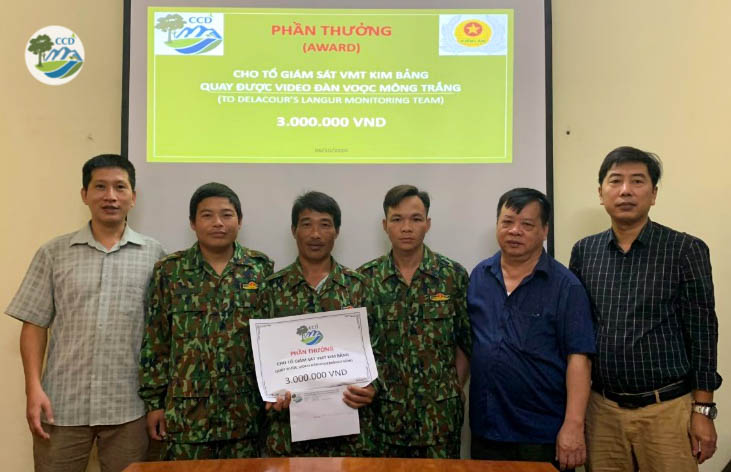 Ghi nhận về hoạt động của Voọc mông trắng (Trachypithecus delacouri) ở rừng Kim Bảng, tỉnh Hà Nam