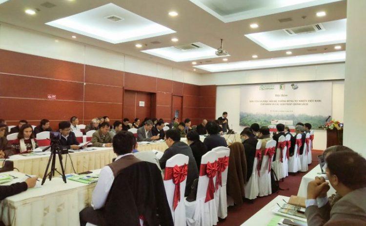 Bảo tồn và phục hồi hệ thống rừng tự nhiên Việt Nam: Tầm nhìn và các giải pháp chính sách
