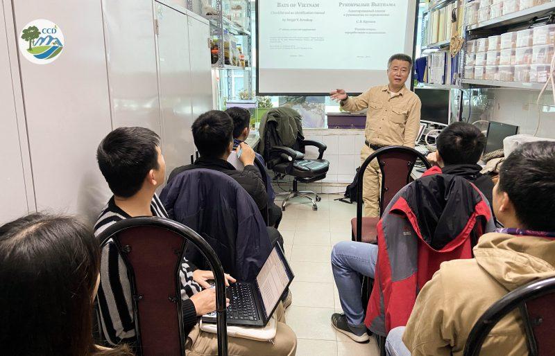 Tập huấn và chia sẻ kinh nghiệm về nghiên cứu và bảo tồn các loài thú nhỏ, Dơi, và Chim ở Việt Nam