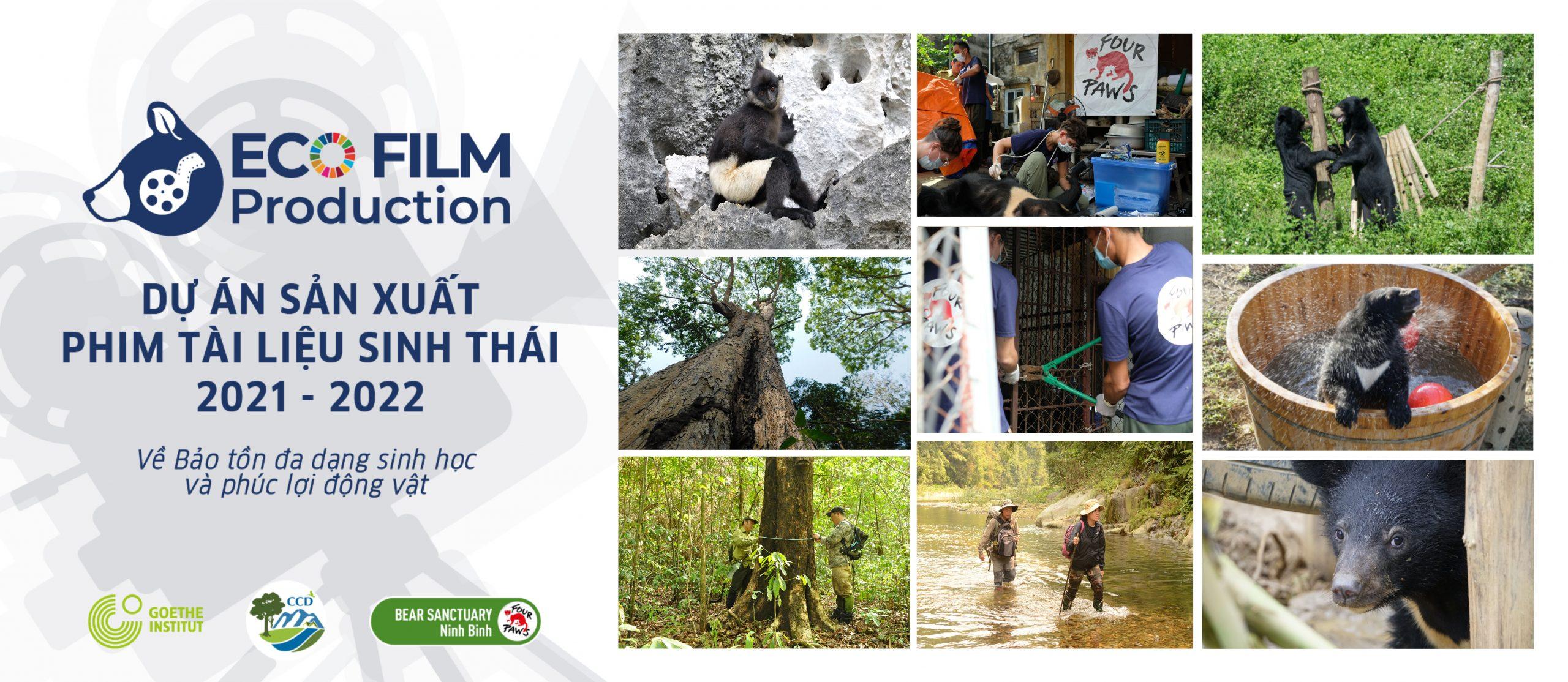 THÔNG BÁO: Mời nhà làm phim tham gia Dự án sản xuất phim tài liệu Sinh thái